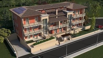 Appartamenti in costruzione a Vigheffio